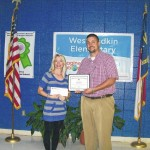 Yadkin County teacher earns 'Going Local' grant