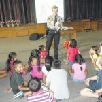 Kids get lesson on animal safety