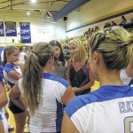 Elkin volleyball drops season opener