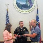 Jonesville's newest officer sworn in