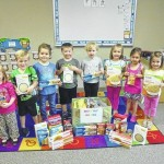 Preschoolers donate to local ministry