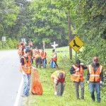 Forbush JROTC cadets conduct Adopt-A-Highway