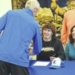 Baseball: Elkin pitcher Will Altemueller signs with Pfeiffer University