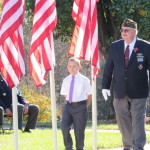 Veterans Day celebration at Yadkin County Park