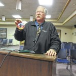 Member of Historic Richmond Hill Law School Commission addresses Yadkin County Commissioners