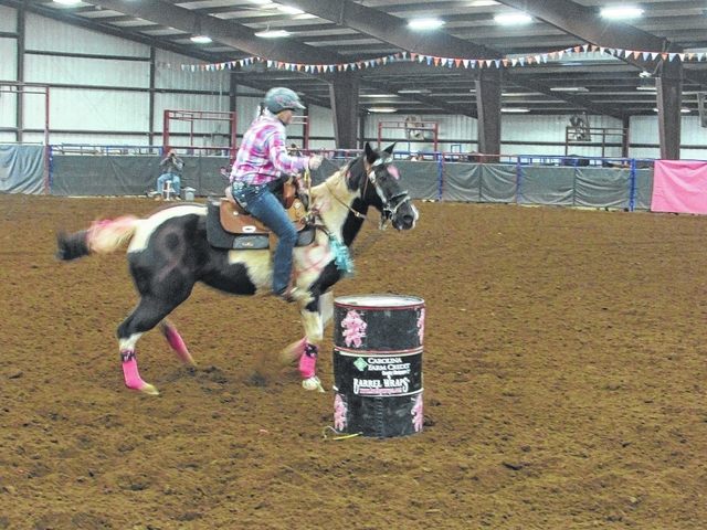 Cowgirls rodeo for a cause