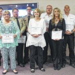 Emergency personnel honored