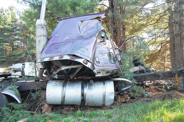 Trucker killed in I-77 accident