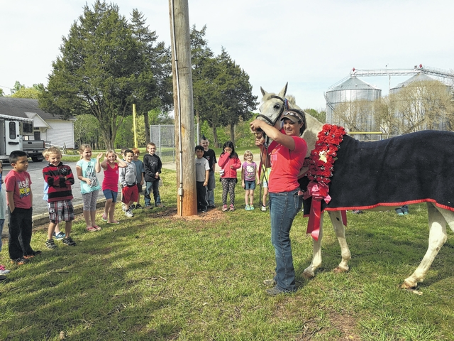 'Wild Horse Tales' at Boonville Elementary
