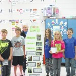 Foxx visits with Forbush Elementary students