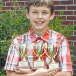 Yadkinville student wins top music awards