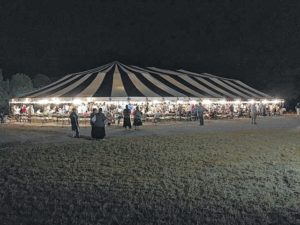 Christian youth camp spawns tent revival