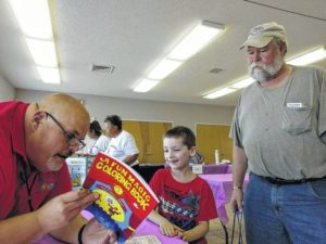 Yadkin emergency officials attend health fair in East Bend