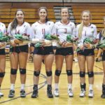 Falcons celebrate senior night