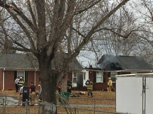 Fire damages Boonville duplex