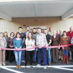 Ribbon cutting held