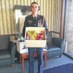 Austin Company, Forbush JROTC donate to military personnel