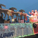 Christmas parades ring in season